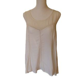 American Eagle Outfitters white sleeveless blouse